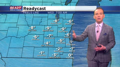 Chill gets even colder Wednesday morning